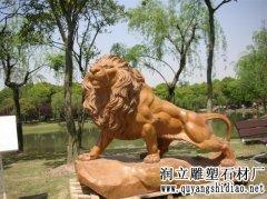 欧款石狮子照片