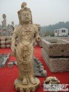仿古石刻佛像-曲阳石雕网