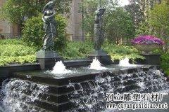 城市喷水雕塑